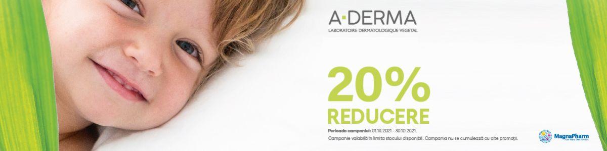 Promotie Aderma 20% Reducere