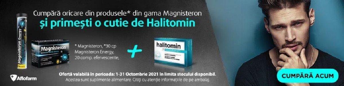 Promotie Aflofarm Magnisteron  Produs Bonus Octombrie