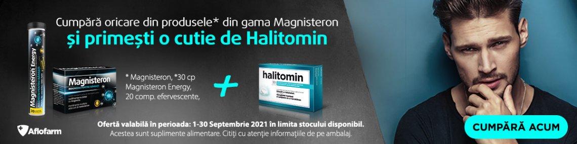 Aflofarm Magnisteron Septembrie - Halitomin