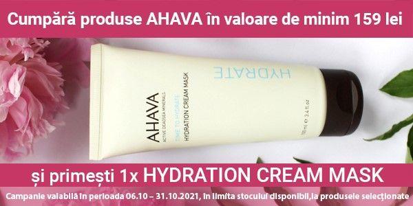 Promotie Ahava Time to Hydrate Produs Bonus
