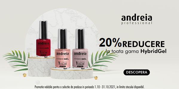 Promotie Andreia 20% Reducere