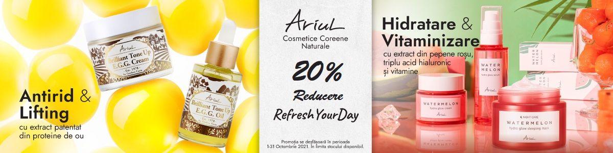 Promotie Ariul 20% Reducere Octombrie