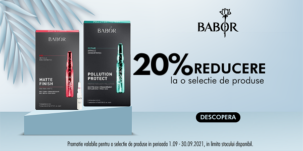 Babor 20% Septembrie