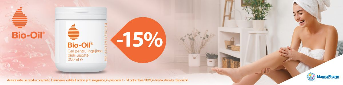 Promotie BioOil 15% Reducere