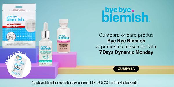 Bye Bye Blemish Septembrie