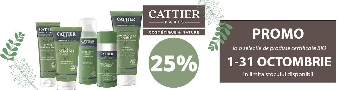 Promotie Cattier 25% Reducere Octombrie