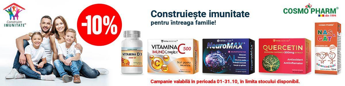 Promotie Cosmopharm 10% Reducere Octombrie