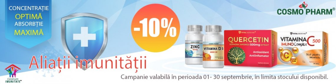 Cosmopharm Septembrie 10%