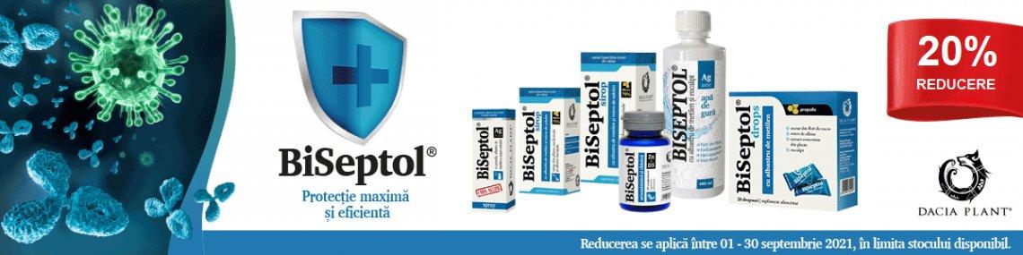 Dacia Plant - Biseptol - Septembrie 20%