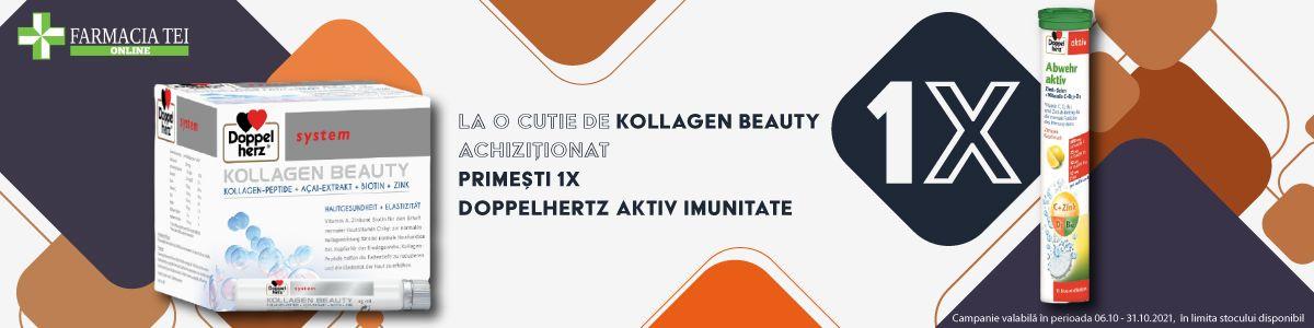 Promotie Kollagen Beauty Produs Bonus Octombrie