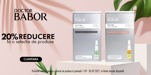 DR Babor 20% Septembrie