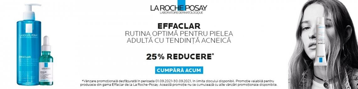 Effaclar 25% Septembrie
