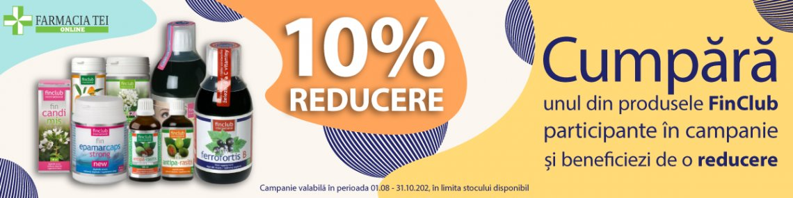 FinClub August - Octombrie 10%
