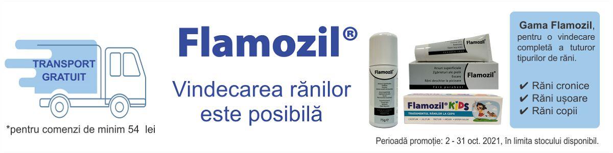 Promotie Flamozil Transport Gratuit Octombrie