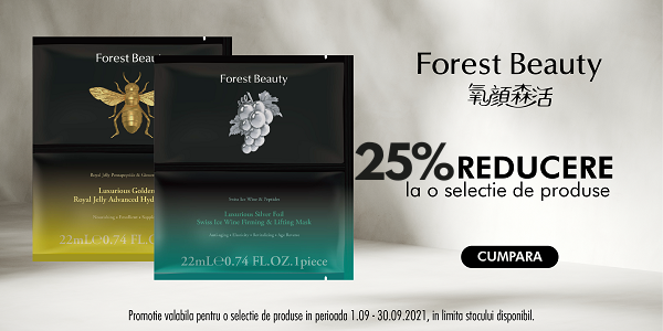Forest Beauty 25% Septembrie