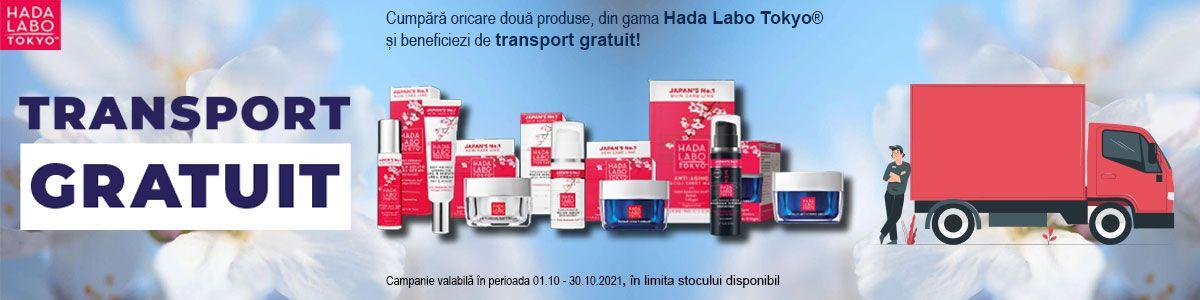 Promotie Hada Labo Transport Gratuit Octombrie