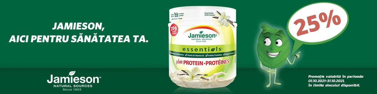 Promotie Jamieson Protein 25% Reducere Octombrie