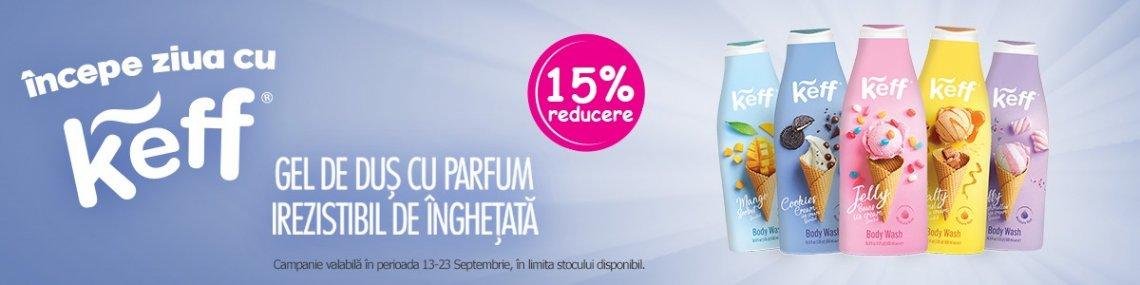 Keff 15% Septembrie