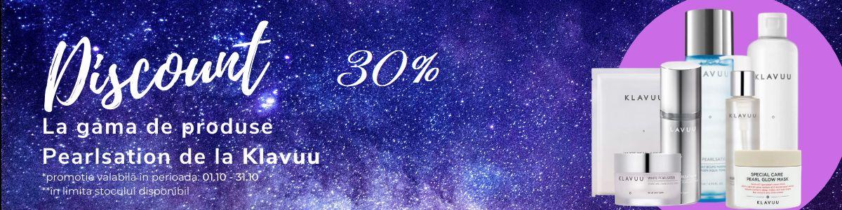Promotie Klavuu 30% Reducere Octombrie