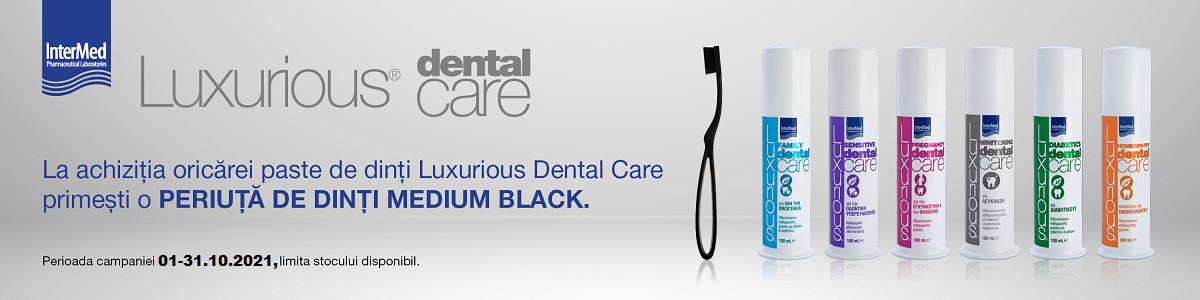 Promotie Luxurious Dental Produs Bonus Octombrie