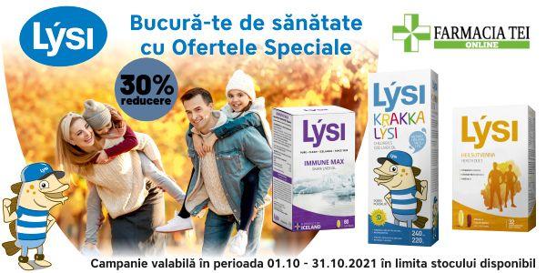 Promotie Lysi 30% Reducere Octombrie