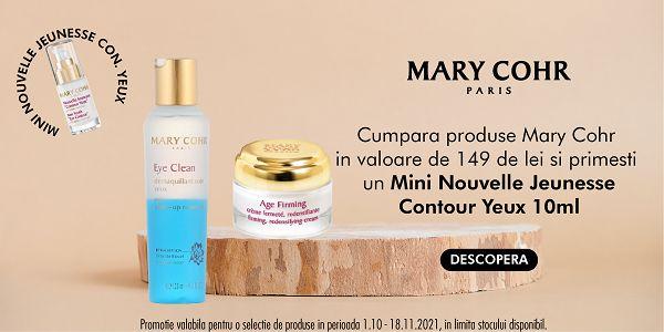 Promotie Mary Cohr Produs Bonus