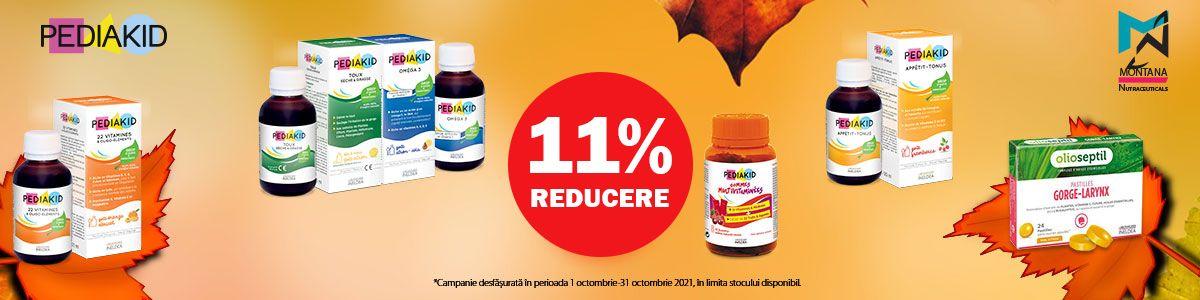 Promotie Pediakid 11% Reducere Octombrie