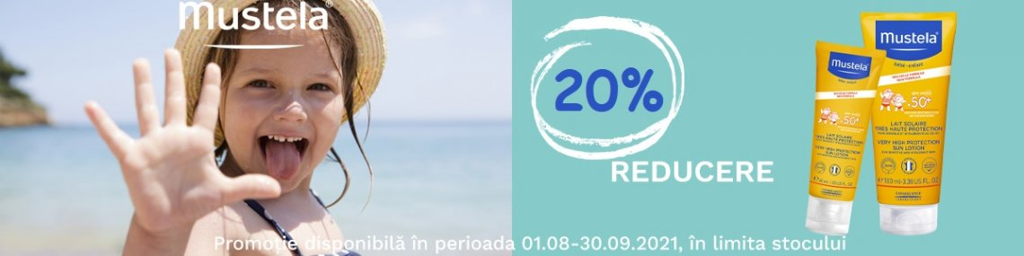 Mustela 20% August-Septembrie