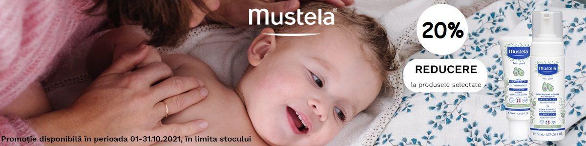 Promotie Mustela 20% Reducere Octombrie