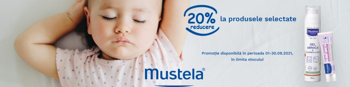 Mustela 20% Septembrie