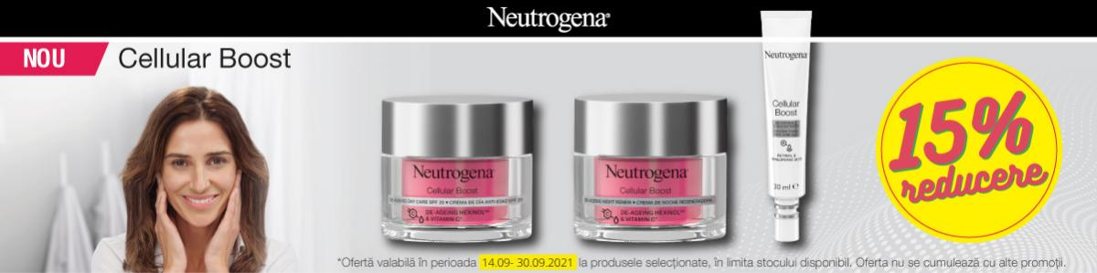 Neutrogena 15% Septembrie