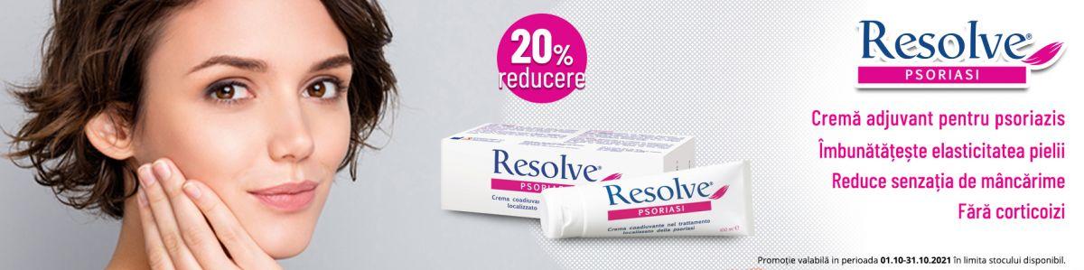 Promotie Resolve 20% Reducere Octombrie