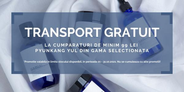 Promotie Pyunkang Yul Transport Gratuit Octombrie