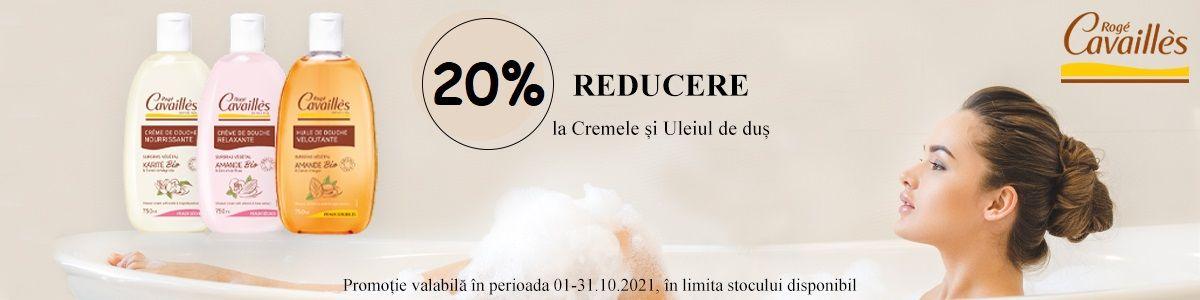 Promotie Roge Cavailles 20% Reducere Octombrie