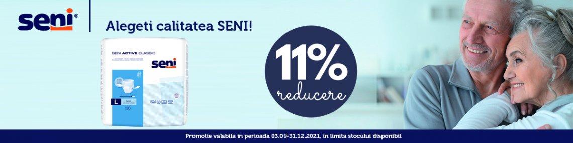 Promotie Seni Active 11% Reducere Septembrie-Decembrie