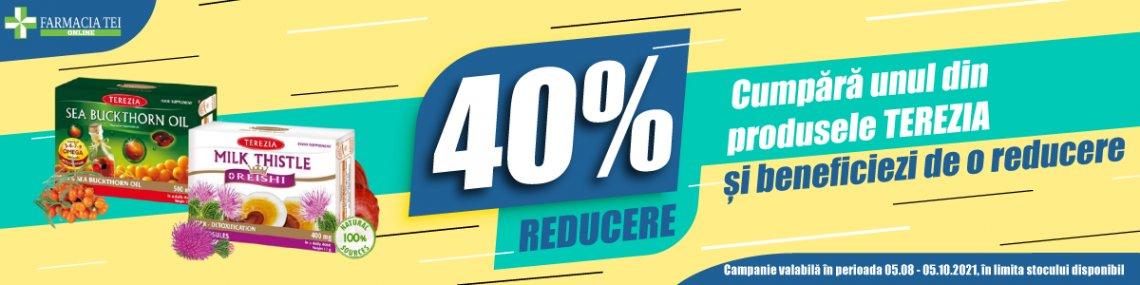 Terezia August - Octombrie 40%