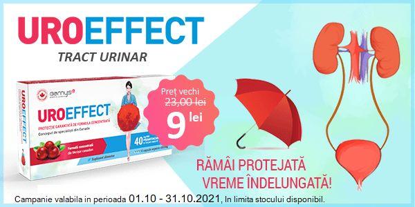 Promotie Uroeffect Reducere Octombrie - Noiembrie