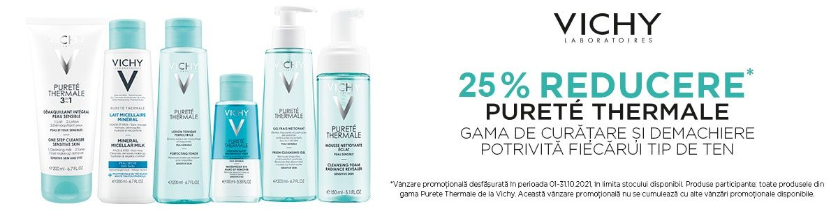 Promotie Vichy 25% Reducere Octombrie