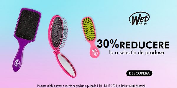 Promotie Wet Brush 30% Reducere