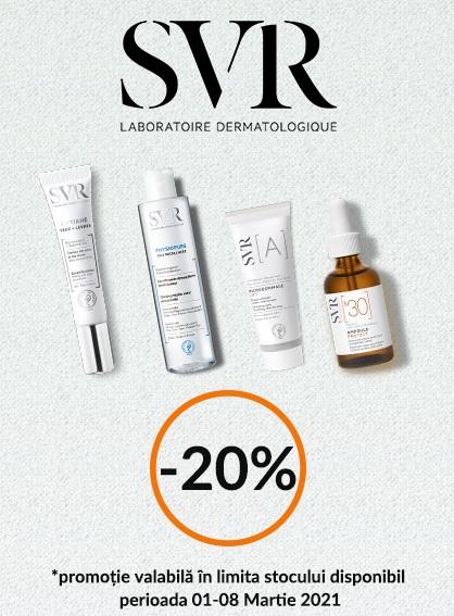 SVR 20% 1 - 8 Martie