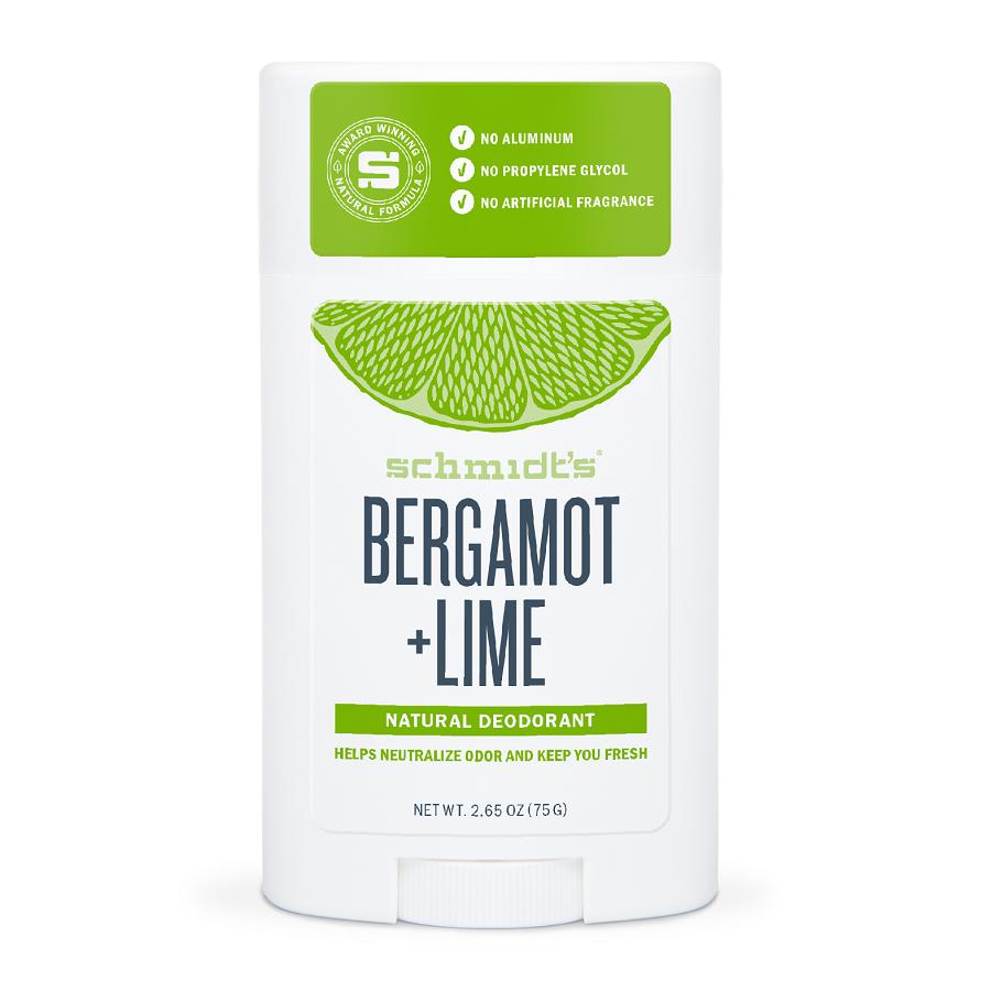 Deodorant stick cu Bergamotă și Lămâie Verde, 75 g, Schmidt's