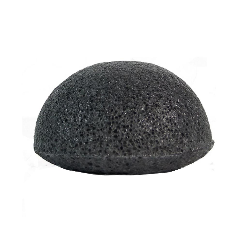 Burete de față din fibre naturale Konjac cu cărbune, Belmar Enterprises