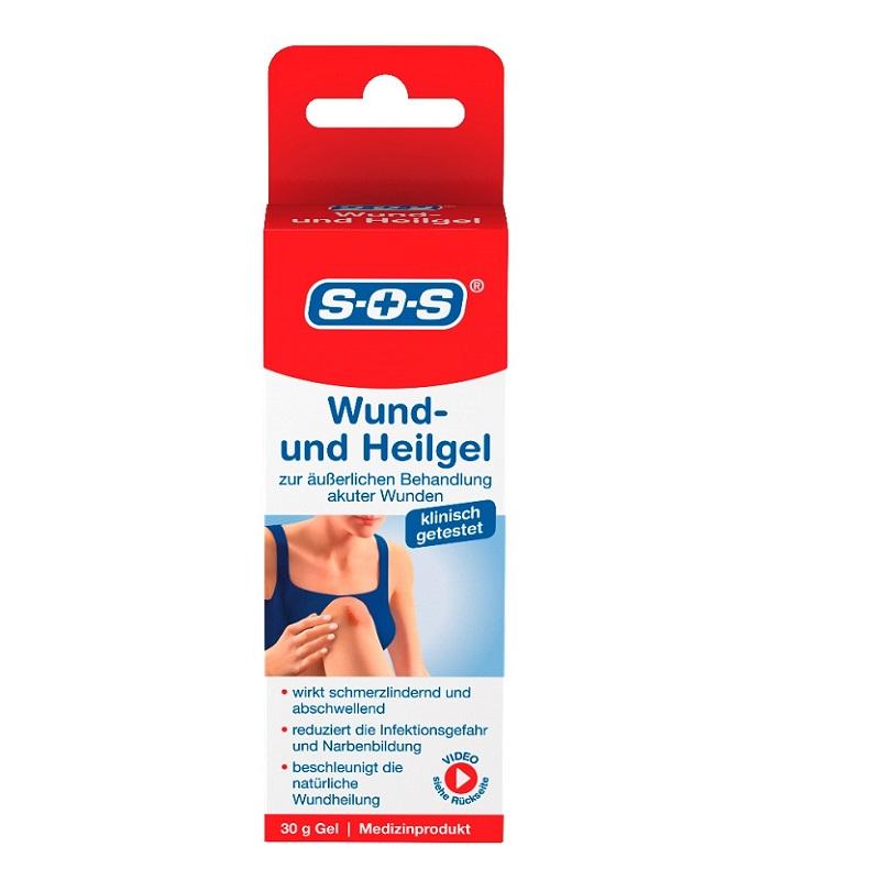 Gel pentru tratamentul plagilor SOS, 30 ml, Dr. Kleine