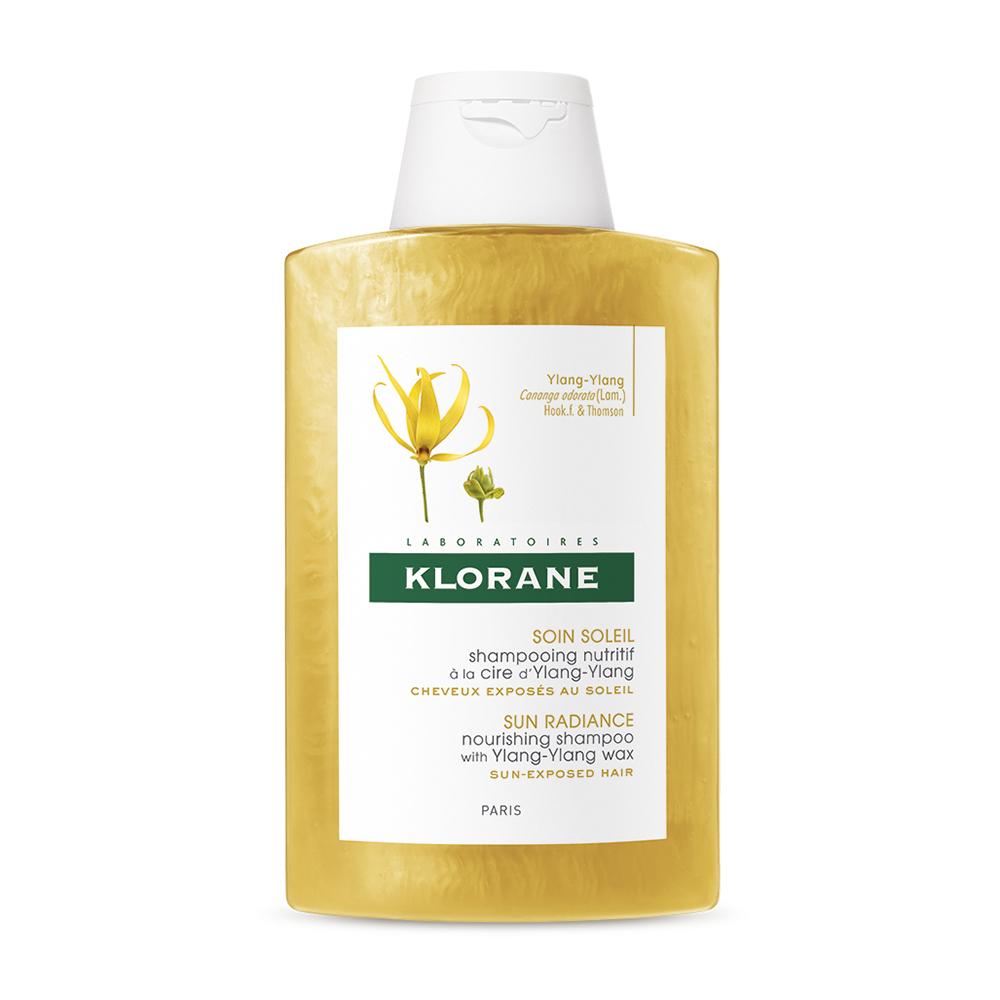 Șampon cu ylang-ylang pentru păr expus la soare, 200 ml, Klorane
