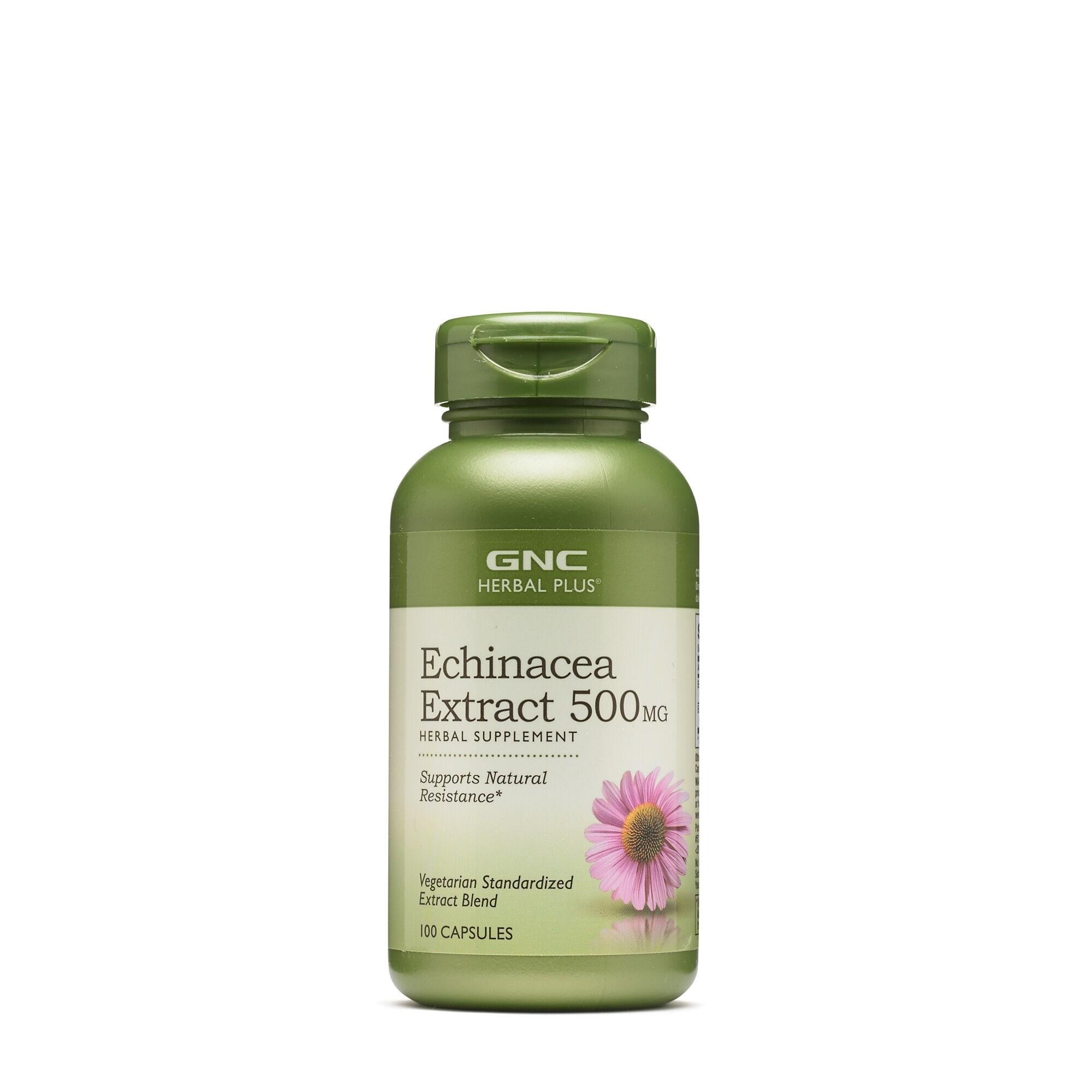 Extract de Echinacea 500 mg (198712),100 capsule, GNC