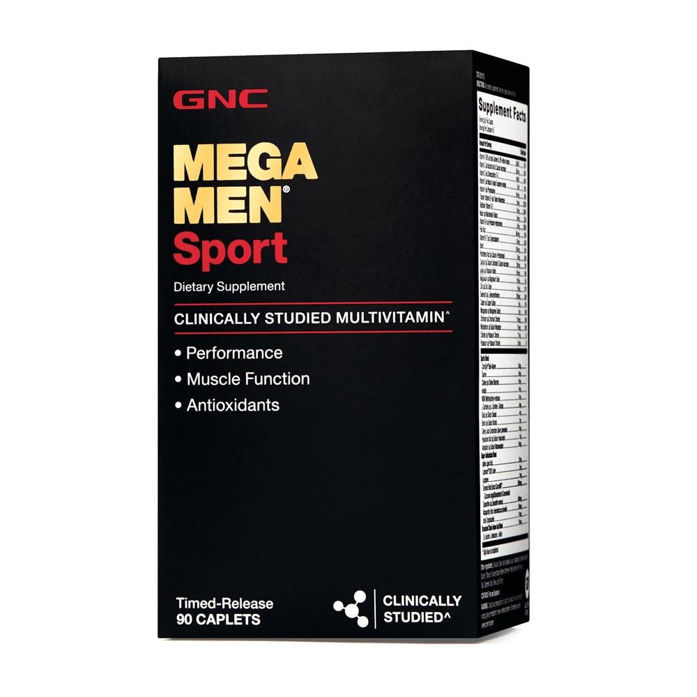 Mega Men Sport (201512), 90 tablete, GNC