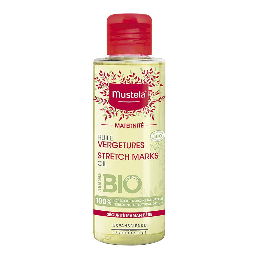 Ulei Bio antivergeturi Maternite, 105 ml, Mustela