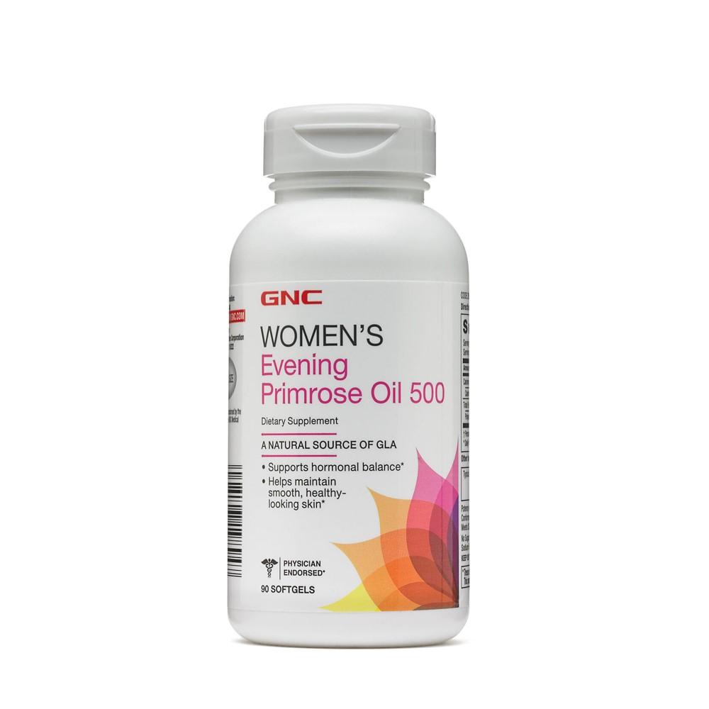 Ulei de Luminița Nopții 500 mg Women's (264021), 90 capsule, GNC