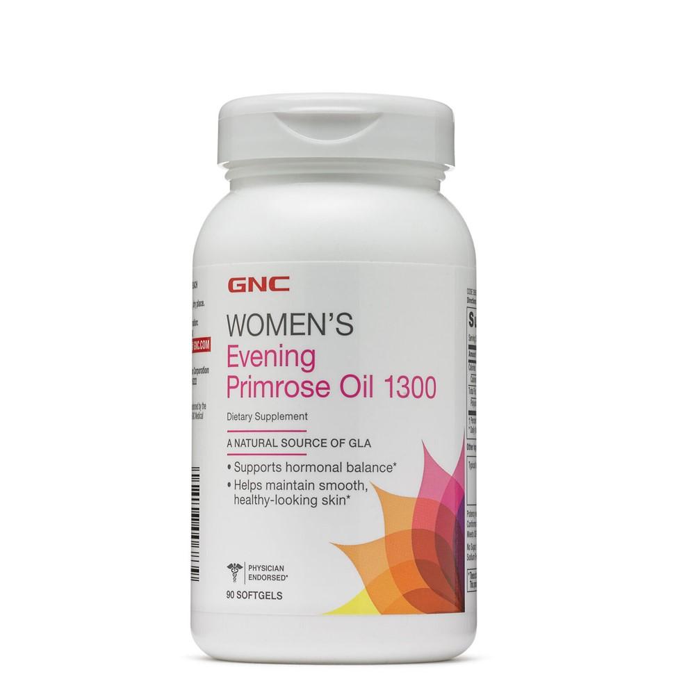 Ulei de Luminița Nopții 1300 mg Women's (265620), 90 capsule, GNC