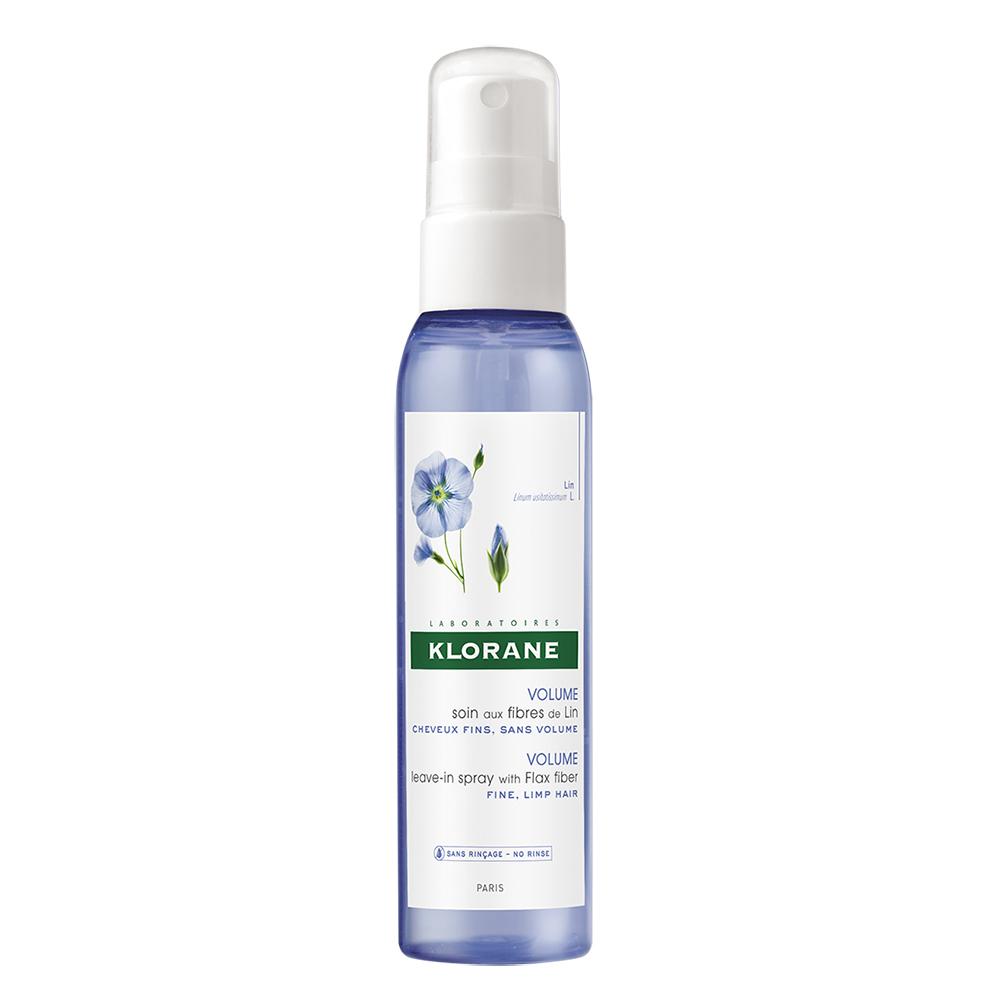 Spray pentru volum cu fibra de in, 125 ml, Klorane